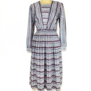 Vintage | Cathy Sue Long Sleeved Dress